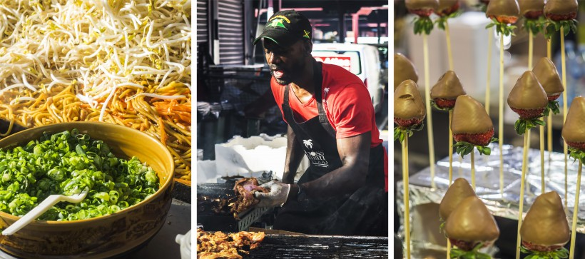 Queen Victoria Market, Melbourne, jedzenie