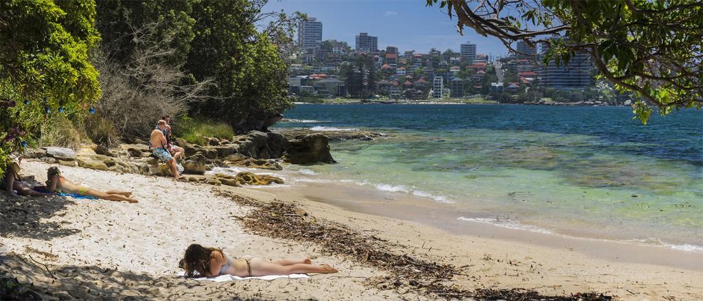 Boże narodzenie w Australii - Manly, Sydney