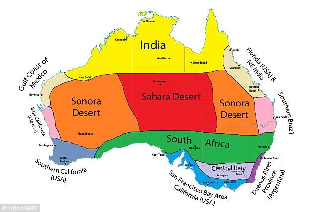 klimat Australia rodzaje pogoda