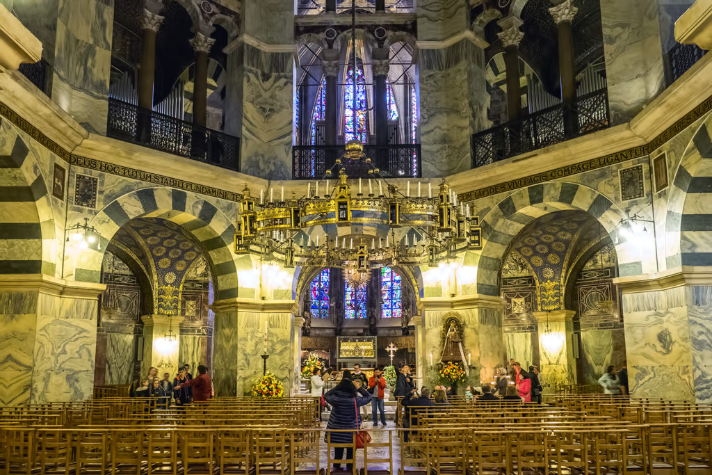 Kaplica i żyrandol Barbarossy