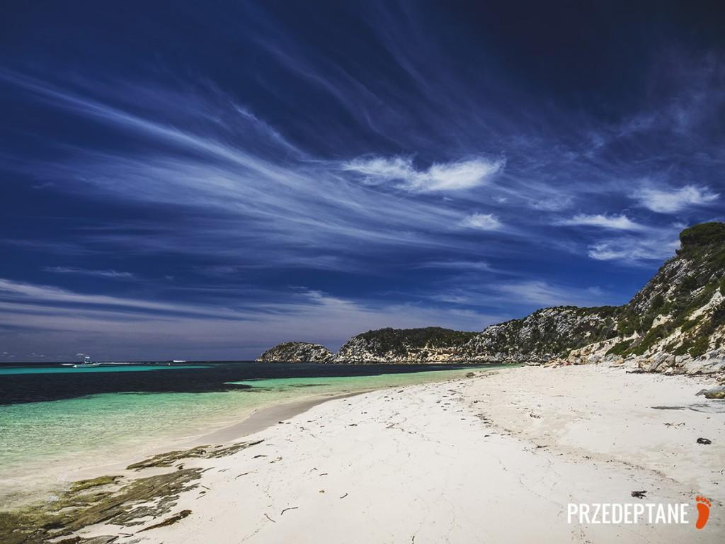 plaża na Rottnest Island